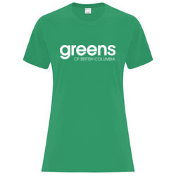 BC Greens - feminine fit t-shirt Thumbnail