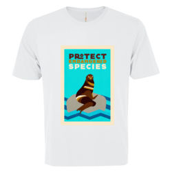 Protect endangered species t-shirt Thumbnail